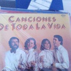 Discos de vinilo: CANCIONES DE TODA LA VIDA. Lote 100525079