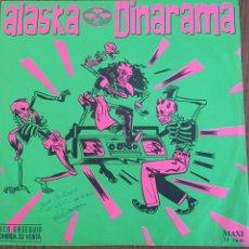 Discos de vinilo: MAXI ALASKA Y DINARAMA. QUIERO SER SANTA. VINILO. Lote 100596484