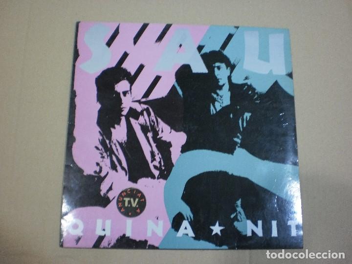 SAU - QUINA NIT - (PICAP-1990) - ROCK CATALA LP (Música - Discos - LP Vinilo - Grupos Españoles de los 90 a la actualidad)