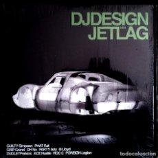 Discos de vinilo: DJ DESIGN – JETLAG 2LP HIP HOP. Lote 100622127