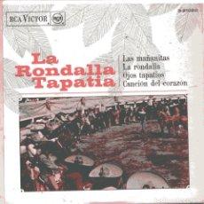 Discos de vinilo: LA RONDALLA TAPATIA / LAS MAÑANITAS + 3 (EP 1968). Lote 100622759