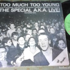 Discos de vinilo: THE SPECIAL A.K.A. FEATURING RICO TOO MUCH TOO YOUNG SPAIN 1980 EP. Lote 100624871