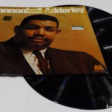 Discos de vinilo: CANNONBALL ADDERLEY - CANNONBALL AND EIGHT GIANTS - 2 LP-DOBLE PORTADA-1973. Lote 100631231