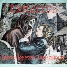 Discos de vinilo: LP THE EXPLOITED - DEATH BEFORE DISHONOUR. Lote 100635959