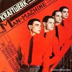 Discos de vinilo: KRAFTWERK : THE MAN MACHINE. (LP. CAPITOL RDS, 1978). Lote 100641555