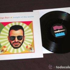 Discos de vinilo: BEATLES RINGO STARR MAXI SINGLE ESPAÑA ORIGINAL 1992 TEMA INEDITO. Lote 100651423