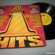 Discos de vinilo: 20 NUMBER 1 HITS .LP CON ..HARUM,CHRISTIE,BARRY RYAN,ABBA,BEE GEES,PAT BOONE.. ARCADE. Lote 100653907