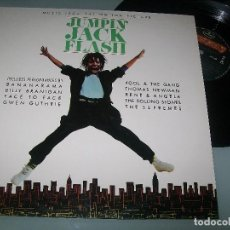 Discos de vinilo: JUMPIN JACK FLASH - MOTION PICTURE ...LP DE 1986 - VARIOS THE ROLLING STONES, THE SUPREMES, ..ETC. Lote 100656463