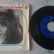 Discos de vinilo: SANDIE SHAW: MAÑANA + 3: (HISPAVOX 1966). Lote 100662999