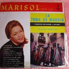 Discos de vinilo: MARISOL CON LA TUNA DE MADRID LP HECHO HIALEAH ( FLORIDA ) . Lote 100679111