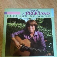Discos de vinilo: JOSE FELICIANO - ESCENA DE AMOR - LP 1982 MOTOWN CON ENCARTES CC. S SANTANA VERS ESPAÑOLA. Lote 100694267