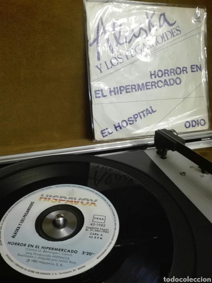 DISCO VINILO SINGLE ALASKA Y LOS PEGAMOIDES (Música - Discos - Singles Vinilo - Grupos Españoles de los 70 y 80)