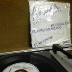 Disques de vinyle: DISCO VINILO SINGLE ALASKA Y LOS PEGAMOIDES. Lote 100699995