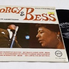 Discos de vinilo: PORGY AND BESS LOUIS ARMSTRONG LP 1967- NEU YORK. Lote 100709015