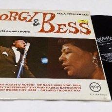 Discos de vinilo: PORGY AND BESS LOUIS ARMSTRONG LP 1967- NEU YORK. Lote 100709015