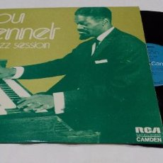 Discos de vinilo: LOU BENNET - JAZZ SESSION - LP 1973. Lote 100715987