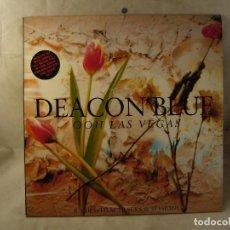 Discos de vinilo: DEACON BLUE OOH LAS VEGAS 2LP 1990 CBS ED ESPAÑOLA. Lote 100716607