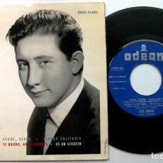 Discos de vinilo: LUIS AGUILÉ - MAS RITMO... DE LUIS AGUILÉ - VERDE, VERDE +3 - EP ODEON 1964 BPY. Lote 100717175