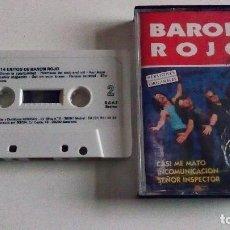 Discos de vinilo: CINTA DEL GRUPO BARON ROJO,14 GRANDES ÉXITOS DEL AÑO 1991. Lote 100717411