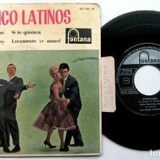 Discos de vinilo: LOS CINCO LATINOS - INSEPARABLES +3 - EP FONTANA 1962 BPY. Lote 100717723