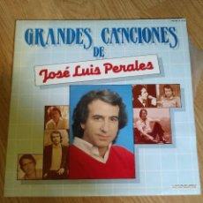 Discos de vinilo: JOSE LUIS PERALES - GRANDES CANCIONES - 2 LP 1983 HISPAVOX DOBLE CARPETA ABIERTA . Lote 100718047