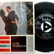 Discos de vinilo: LUIS TUEBOLS Y SU ORQUESTA TÍPICA ARGENTINA - CELOS +3 - EP BARCLAY 1962 BPY. Lote 100718275