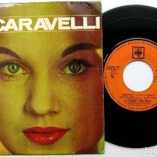 Discos de vinilo: CARAVELLI - CANCIÓN DE LARA +3 - EP CBS 1966 BPY. Lote 100718695