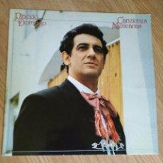 Discos de vinilo: PLÁCIDO DOMINGO - CANCIONES MEXICANAS - LP 1983 CBS CON ENCARTE. Lote 100719263
