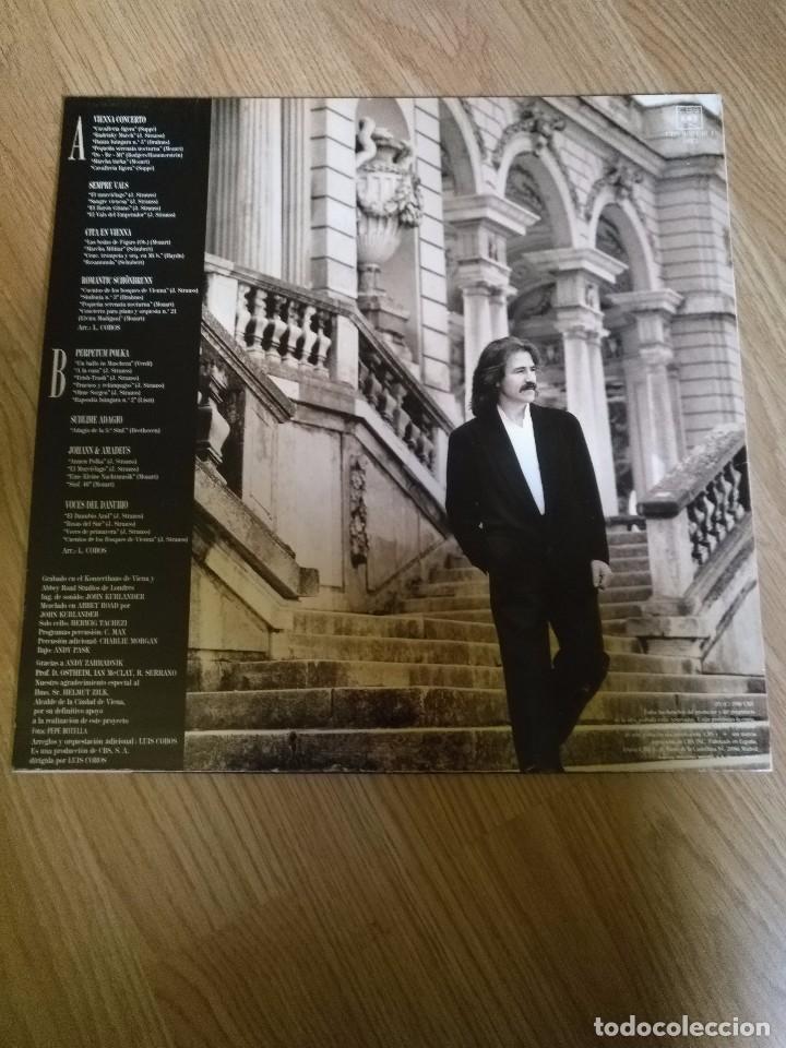 Discos de vinilo: LUIS COBOS - VIENNA CONCERTO - LP 1988 CBS ORQUESTA SINFONICA DE VIENA - Foto 2 - 100720139