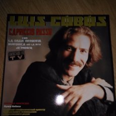 Discos de vinilo: LUIS COBOS - CAPRICCIO RUSSO- LP 1986 CBS ORQUESTA SINFONICA DE RTV MOSCU. Lote 100720367