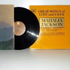 Discos de vinilo: MAHALIA JACKSON, LOTE DE 2 LPS EDICIÓN AMERICANA, EN MUY BUEN ESTADO.. Lote 100720431