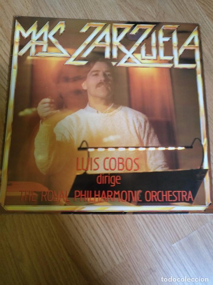 LUIS COBOS - MAS ZARZUELA - LP 1985 CBS CON THE ROYAL PHILHARMONIC ORCHESTRA. (Música - Discos de Vinilo - EPs - Clásica, Ópera, Zarzuela y Marchas)