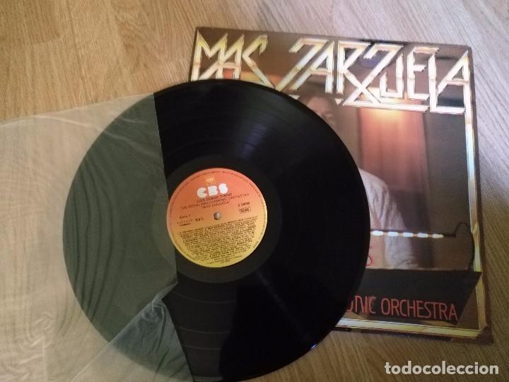 Discos de vinilo: LUIS COBOS - MAS ZARZUELA - LP 1985 CBS CON THE ROYAL PHILHARMONIC ORCHESTRA. - Foto 3 - 100720991