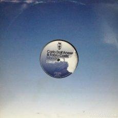 Discos de vinilo: CARLO DALL'ANESE & FABIO CASTRO - MONDAY MAXI SINGLE RARO SIN PORTADA SPAIN 2009. Lote 100727535