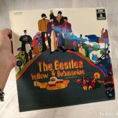 Discos de vinilo: THE BEATLES - YELLOW SUBMARINE - SPAIN - EMI ODEON - 1969 - REF 1 J - 062- 04.002 ESTEREO..IMPECABLE. Lote 265457519