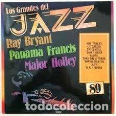 Discos de vinilo: RAY BRYANT / MAJOR HOLLEY / PANAMA FRANCIS – LOS GRANDES DEL JAZZ 89. Lote 100731695