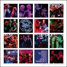 Disques de vinyle: NO TODO ES... (LP AZUL 200GR. + LIBRO + CD + DVD) AEROLÍNEAS FEDERALES. LOS NIKIS. Lote 174357933