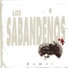 Disques de vinyle: LOS SABANDEÑOS / SOMOS (SINGLE PROMO 1992). Lote 100734039