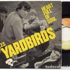 Discos de vinilo: LES YARDBIRDS / HEART PULL OF SOUL / EP 45 RPM // EDITADO POR RIVIERA. Lote 100736391