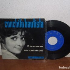 Discos de vinilo: CONCHITA BAUTISTA 7´´ MEGA RARE VINTAGE SPAIN 1966. Lote 100746939