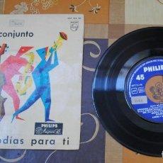 Discos de vinilo: SINGLE, ANDRE Y SU CONJUNTO, 12 MELODÍAS PARA TI.. Lote 100753395
