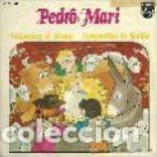 Discos de vinilo: PEDRO MARI SANCHEZ (VILLANCICOS) SINGLE SELLO PHILIPS AÑO 1973 EDITADO EN ESPAÑA . Lote 100754043