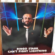 Discos de vinilo: RINGO STARR - BEATLES - CANT FIGHT LIGHTNING- RARO- LP -1989 - GEORGE HARRISON - PAUL MCCARTNEY. Lote 100757399