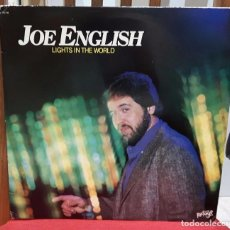 Discos de vinilo: JOE ENGLISH- PAUL MCCARTNEY AND WINGS - BEATLES - LIGHTS IN THE WORLD-RARO- LP- USA- 1980- EXCELENTE. Lote 100758091