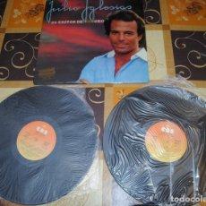 Discos de vinilo: LP DOBLE, JULIO IGLESIAS, 24 ÉXITOS DE ORO. Lote 100758107