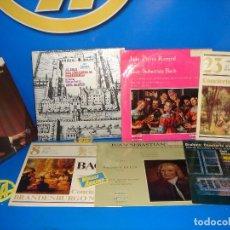 Discos de vinilo: VINILOS LOTE LPS MUSICA CLASICA 7 LPS DESCATALOGADOS - BACH Y BRAHMS. Lote 100832363