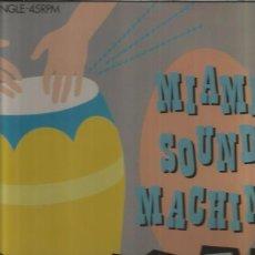 Discos de vinilo: MIAMI SOUND MACHINE. Lote 100912271