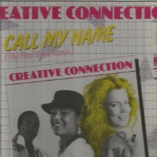 Discos de vinilo: CREATIVE CONNECTION. Lote 100928451