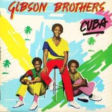 Discos de vinilo: GIBSON BROTHERS : CUBA. (LP. ISLAND RDS (UK), 1979). Lote 100930743
