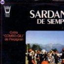 Discos de vinilo: COBLA COMBO-GILI DE PERPIGNAN - SARDANAS DE SIEMPRE - LP HISPAVOX 1982 . Lote 100942063